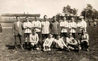 OLD PHOTO Featuring The Sheffield Wednesday Football Team in Sweden