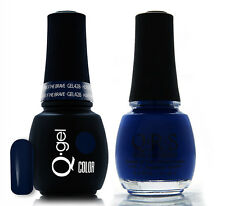 Gel & Polish QRS Beauty Combo MAT428 Home of the Brave Blue Color