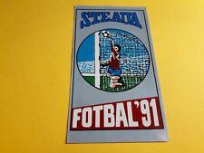 STEAUA BUCAREST ROMANIA FOTBAL '91 ADESIVO STICKER ORIGINALE NEW