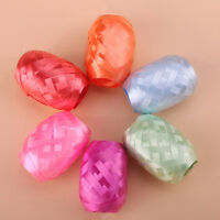 6 Pcs/set Party Ribbon Belay Foil Helium Balloon Solid Color Tape 5mm * 10m 3C