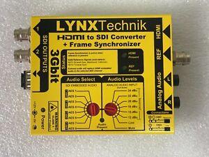 Lynx Technik AG yellobrik CHD 1812 HDMI to 3Gbit SDI Converter