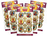 Pack of 5 of Eastern Christian Icon Stickers Crosses Easter Eggs and Candles