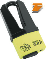ABUS MOTORCYCLE SECURITY GRANIT QUICK 37/60 YELLOW DISC LOCK 70/11mm [00903 7]