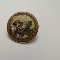 Disney DLRP 2006 Lands  Mickey With Frontierland  Pin