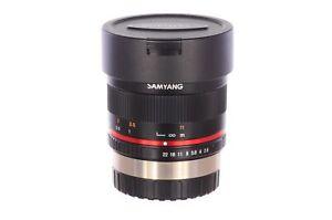 Samyang 8mm f2.8 UMC II, Fuji X mount, superb condition, 6 month guarantee