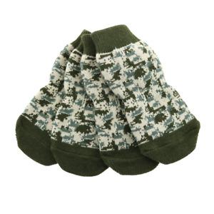 Doggie Design Green Camo Non-Skid Dog Socks