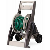 Suncast 175' Hosemobile Assembled Resin Garden Hose Reel Cart with Leader Hose