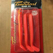 Tsunami Sand Eel 160mm//36g Rose Bubblegum-Bass Cod Pollock