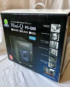 Lian Li PC-Q08B ohne Netzteil schwarz USB 3.0 Mini-ITX OVP mDTX mITX MiniCube