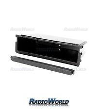 Car Radio Mounting Pocket Tray Storage Blank for 2 DIN sets