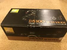 New Nikon D5100 16.2MP DSLR Digital Camera with 18-55mm f/3.5-5.6G VR Zoom Lens
