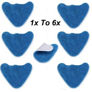 1x - 6x Pads for VAX S86-SF-CC S86-SF-C VAX S85-CM Steam Cleaner Microfibre Mop