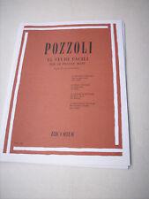 Pozzoli E. - 15 Studi facili per le Piccole Mani per Pianoforte