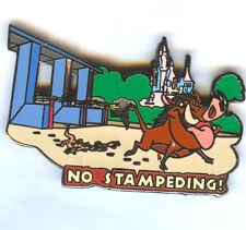 Disney's The Lion King Wild About Safety NO Stampeding! Timon/Pumbaa Pin