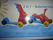 Bieco - Rutscher + Lauflerner 2 in 1 Roller Lauflernhilfe Rutschauto NEU OVP
