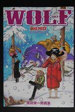 "JAPAN Eiichiro Oda: One Piece Color Walk #8 ""Wolf"" (Art Book)"