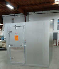 6 X 6 X 8 Walk In Cooler Us Made With Refrigeration 6715 In Stock Now