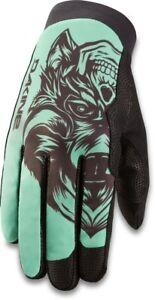 Dakine Thrillium Cycling Bike Gloves, Mens Large, Turquoise 2Face New 2021