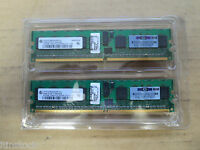 Infineon 1Gb RAM (2 x 512MB) DDR2 1RX8 PC2-3200 667MHZ 240PIN DIMM ECC Register