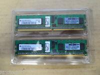 Infineon 1Gb RAM (2 x 512MB) DDR2 1RX8 PC2-3200 667MHZ 240PIN DIMM ECC Register