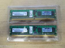 Infineon 1GB RAM (2 X 512 MB) DDR2 1RX8 PC2-3200 667 MHZ 240pin DIMM ECC registro
