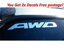 SUBARU AWD STICKERS DECALS