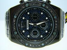 MENS JOJO/JOJINO/JOE RODEO BLACK DIAMOND WATCH 1.75 CT