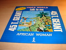 """THIRD WORLD - TALK TO ME DISCOMIX - FRENCH PRESSING!!!!!!!!!RARE 12""""!!!!MAXI 45T"""
