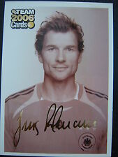 PANINI Bild Karte JENS LEHMANN Card Fussball WM 06 Arsenal London BVB Schalke 04