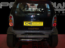 SMART CAR STAINLESS STEEL EXHAUST DE-CAT SYSTEM SINGLE TAIL PIPES