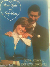Princess Diana: PRINCE CHARLES LADY DIANA SPENCER ROYAL WEDDING SOUVENIR BOOK
