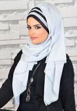 DPND64 Draperie Chiffon Fertig Kopftuch BandanaHazir Türban Sal Tesettür Hijab
