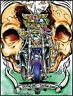 Splitting Lanes STICKER Decal Motorcycle Fink Skull Art Von Franco VF49 Roth