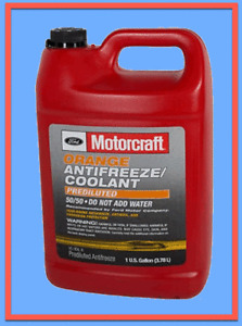 1 Gallon Engine Coolant Antifreeze Motorcraft Orange/Yellow Pre diluted