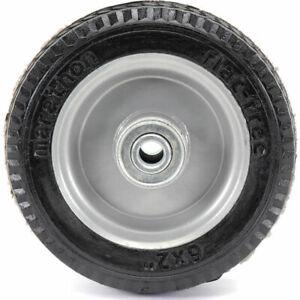 Marathon 6x2 Utility Tire Flat Free Wheel Hand Truck Carts Dollies SHIPS TODAY!
