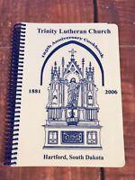 VTG COOK History BOOK TRINITY LUTHERAN CHURCH HARTFORD SOUTH DAKOTA  Casserole