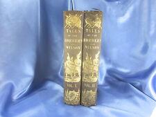 1850 TALES OF THE BORDER & OF SCOTLAND – Vol I & II AMERICAN EDITION: WILSON