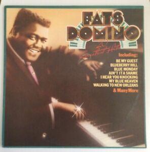 FATS DOMINO - 20 GREATEST HITS - 1976 United Artists Vinyl LP
