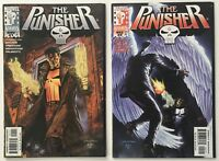 The Punisher #s 1 and 2 Vol. 2 1998 Marvel Comics NM- 9.2 to NM 9.4 WP
