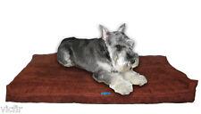 "Shredded Memory Foam Orthopedic Dog Bed for Medium Dogs,37""x27"",Brown Microfiber"