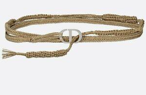 Dior dior natural belt Beige