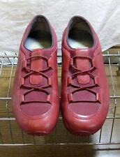 MERRELL Vintage Deep Red Oxfords Slip-on Shoes Sz. 9.5 VGUC Rare