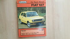 AUTODATA CLASSIC WORKSHOP MANUAL FIAT 127 FROM 1971