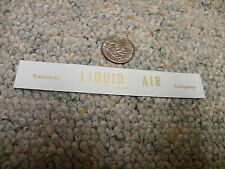 Herald King decals HO Canadian Liquid Air Company gold    XX192