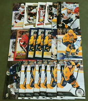 Mike Fisher 19 Card Lot Nice Mix See Scans NHL Hockey