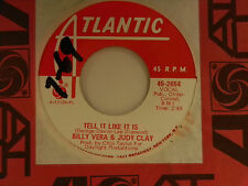 Billy Vera Judy Clay 45 TELL IT LIKE IT IS bw WATCHING FOR THE MOON VG+ to VG++
