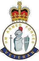Close Protection Unit RMP HM Armed Forces Veterans Clear Cling Sticker