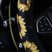 Car Steering Wheel Cover Steering Wheel Protector Anti skid Sunflower Accessory