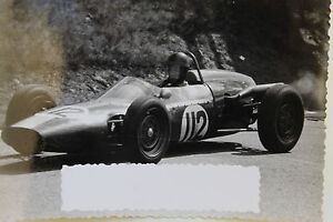 26595 Photo Racer Gelack Poland 1963 Car Racing Automobilsport