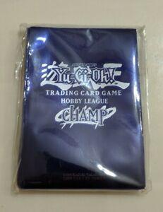 Yu-Gi-Oh Hobby League Champ Blue Sleeves for Cards Tournament Winner Yugioh